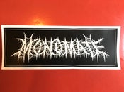 Image of MONOMETAL LOGO STICKER