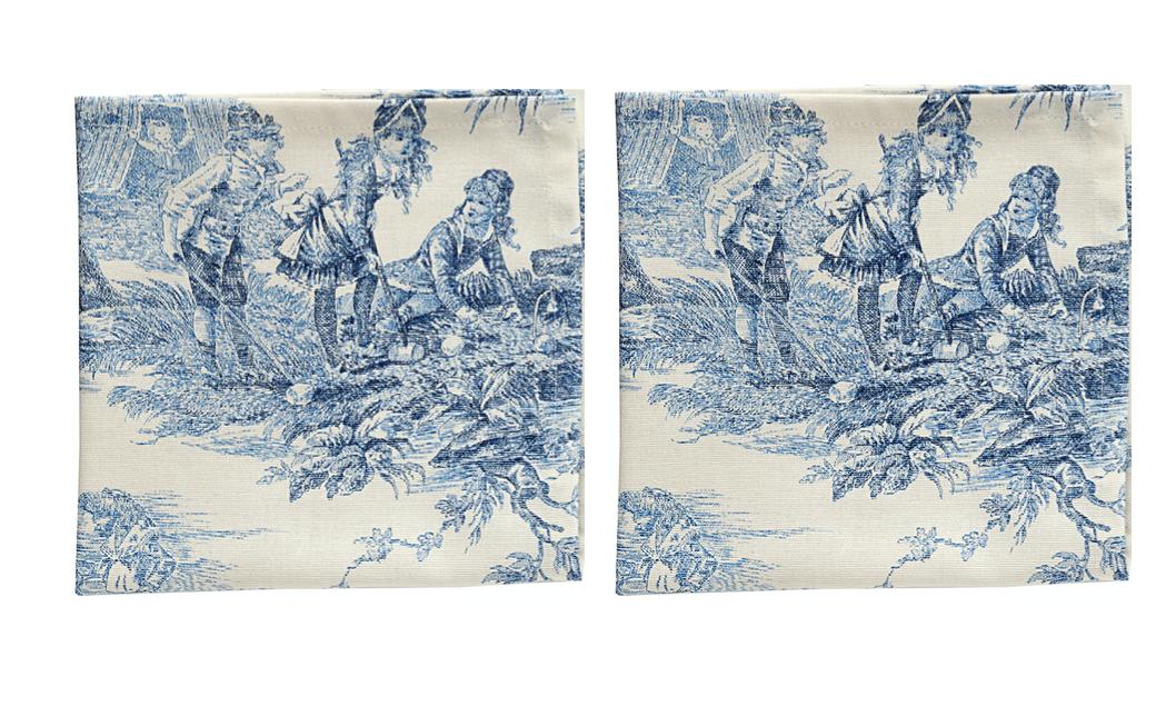 Image of Versailles tovaglioli/napkins set da 2/set of 2