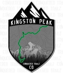 "Image of ""Kingston Peak"" Trail Badge"