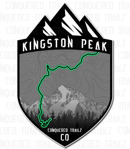 "Image of ""Kingston Peak"" Trail Badge"