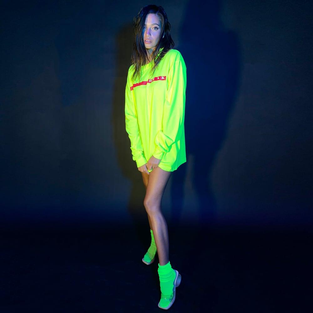 Image of Neon Freak Long sleeve