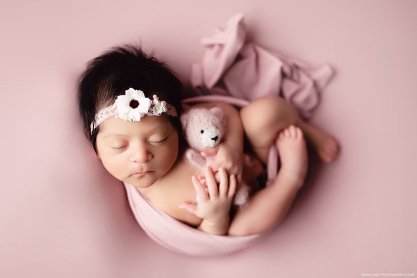 Image of Dusty Rose BabyPlush Wrap