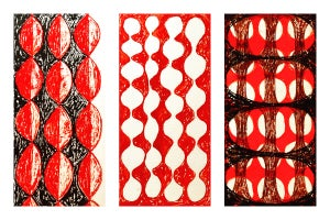 Image of CROSS POLLINATION SERIES - RED
