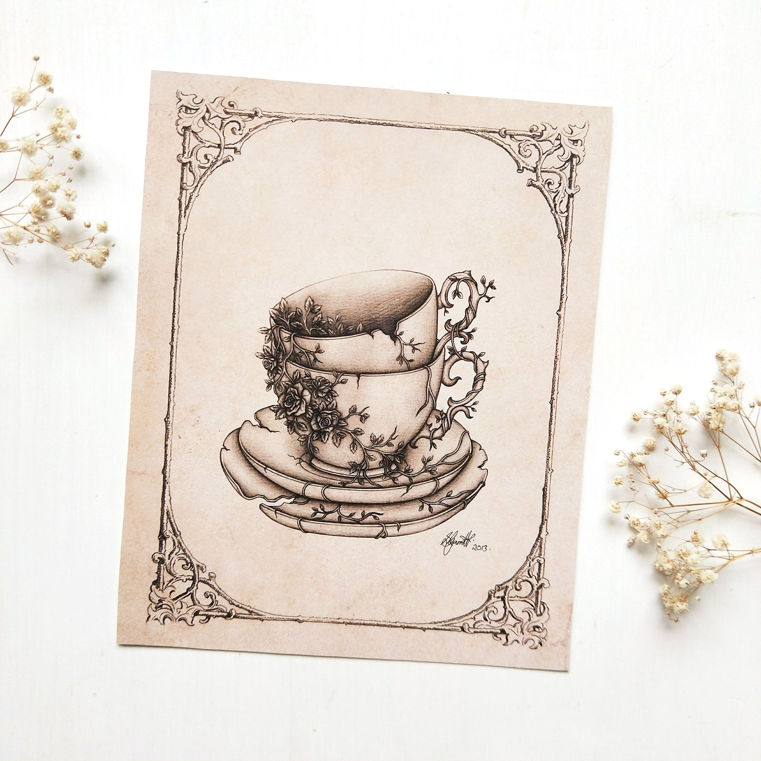 Image of Tea for Two - ART PRINT