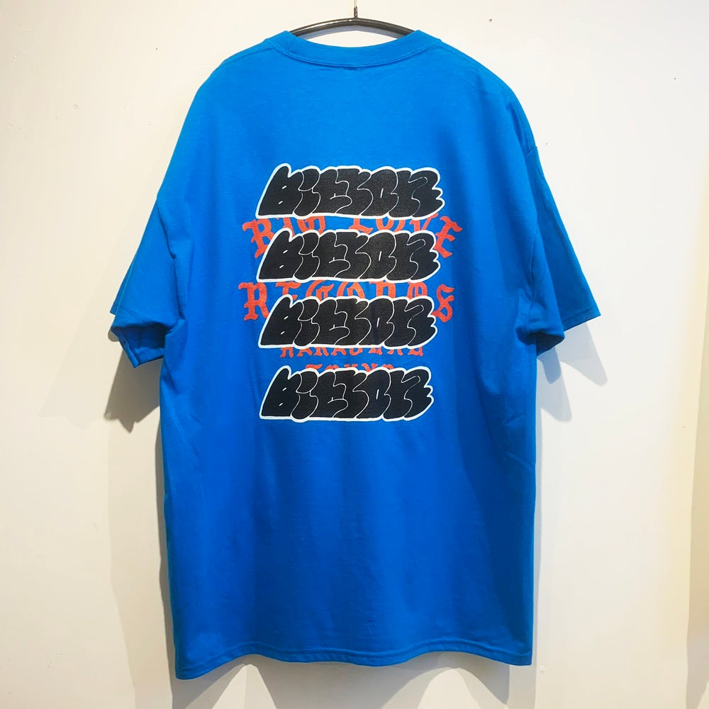 Image of A. SAVAGE X BIG LOVE -BLUE- T-SHIRT