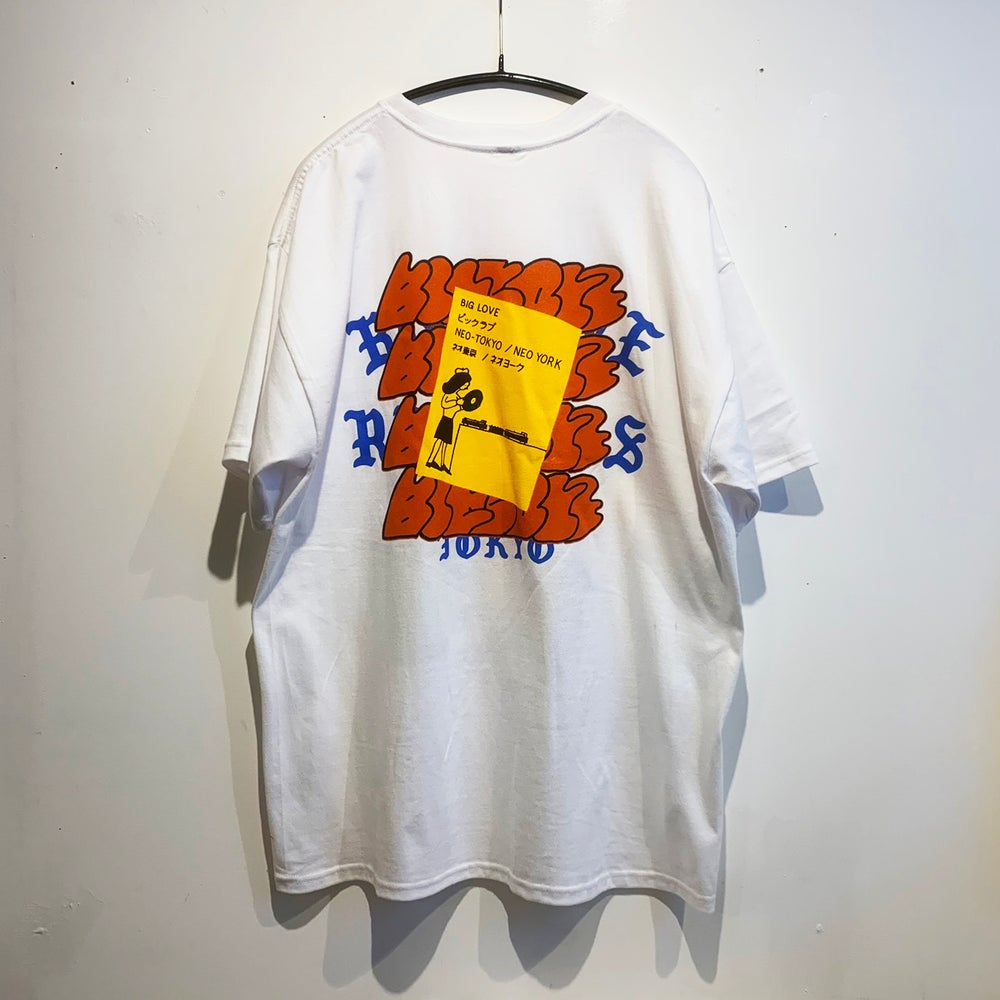 Image of A. SAVAGE X BIG LOVE -WHITE- T-SHIRT