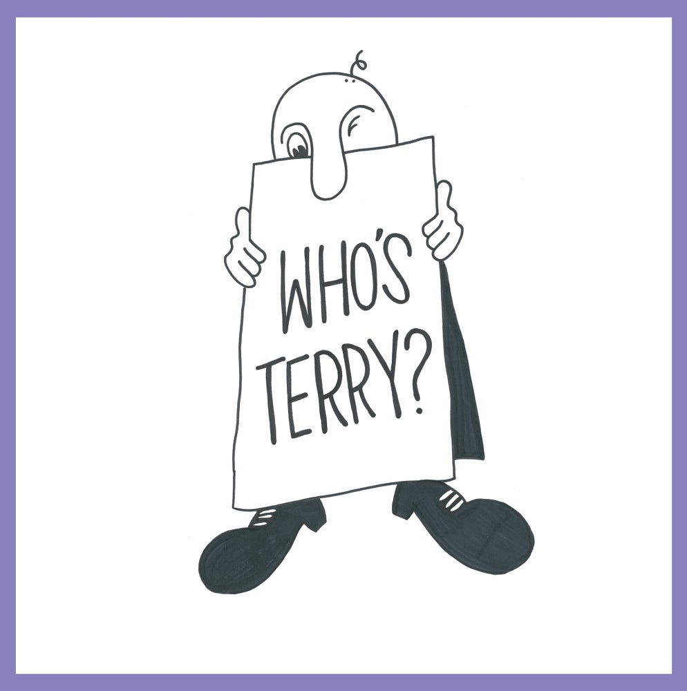 """Image of Terry - 'Who's Terry?' 7"""" EP"""