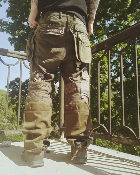 Image of Post apocalyptic cargo pants