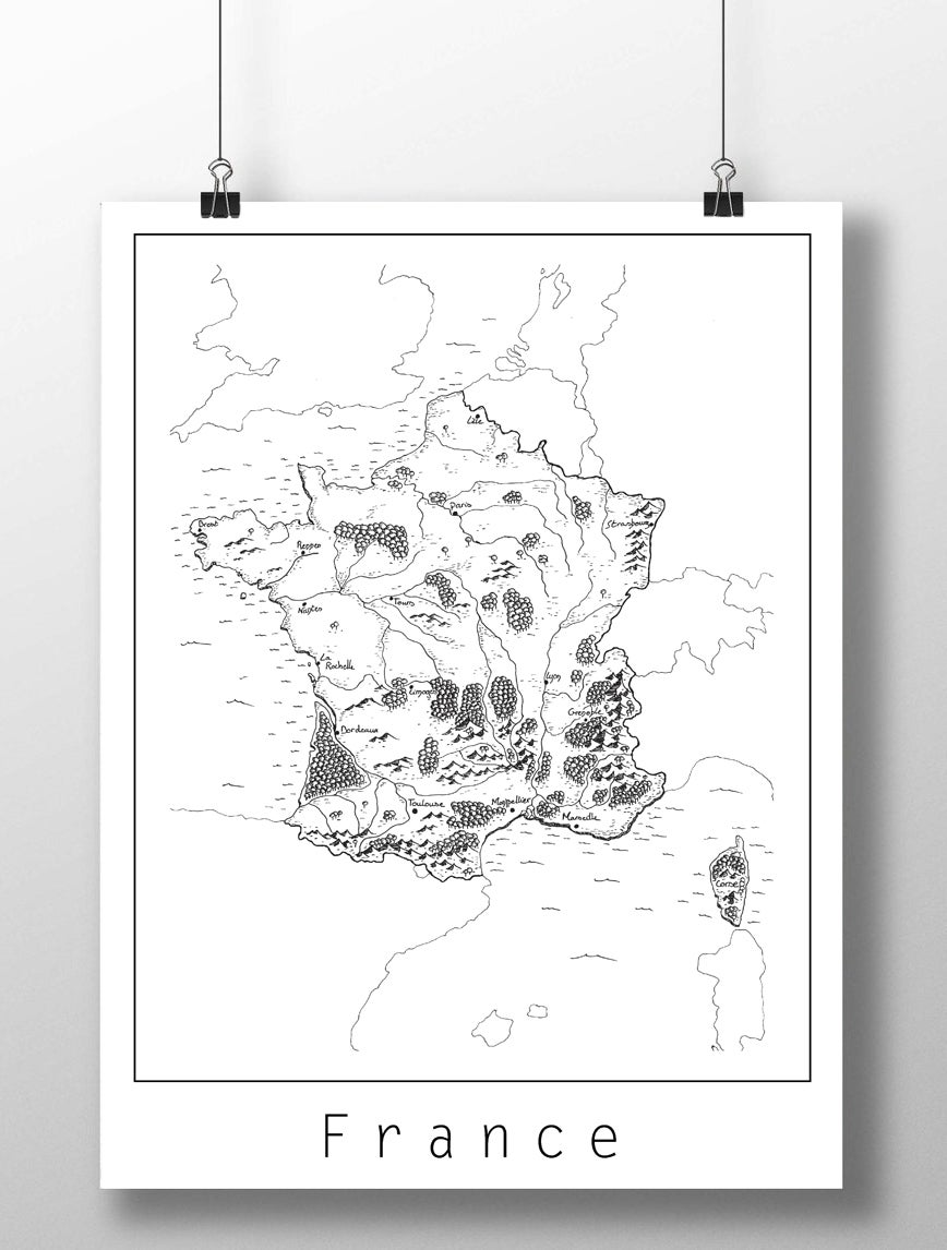Image of Carte de France