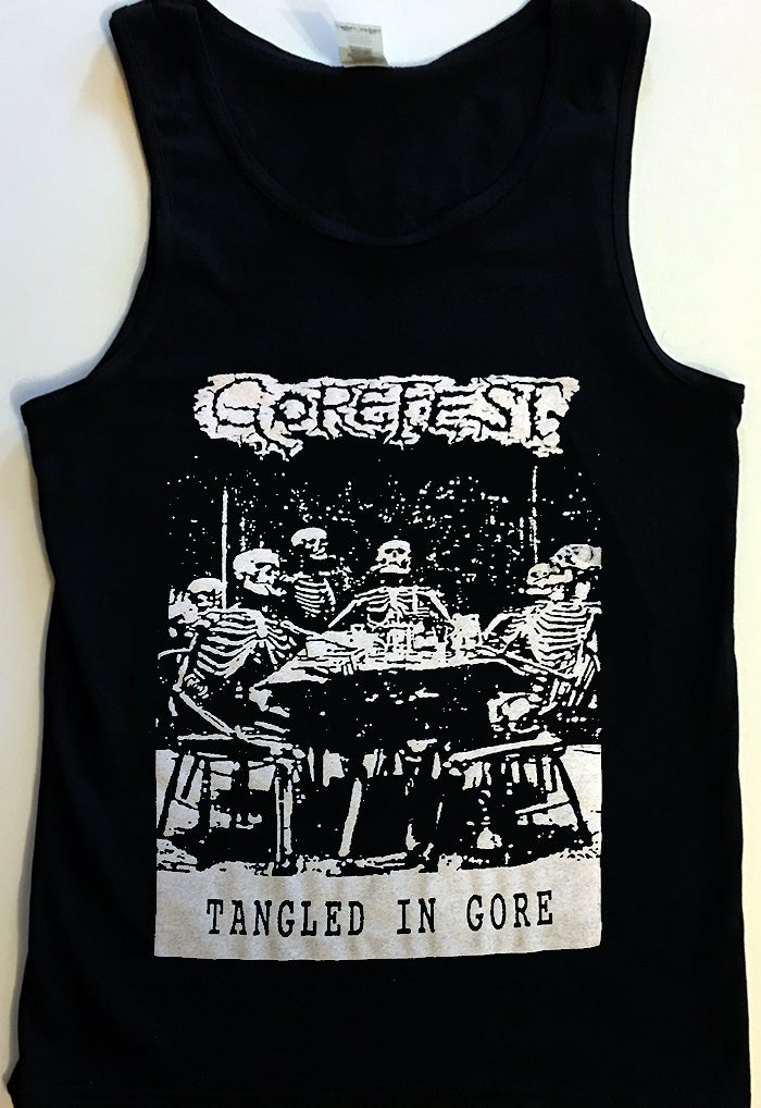 "Image of Gorefest "" Tangled In Gore "" Tanktop"