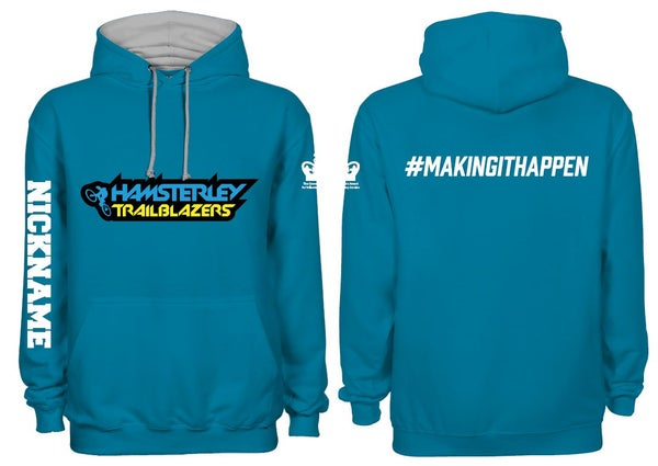 Image of Pre- Order - Hamsterley Trailblazers Club Hoodie