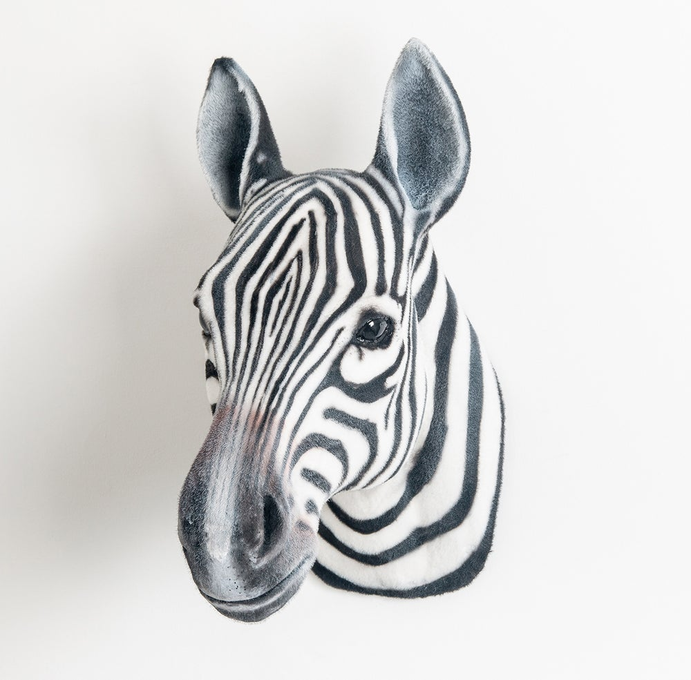 Image of Zebra Sculpture