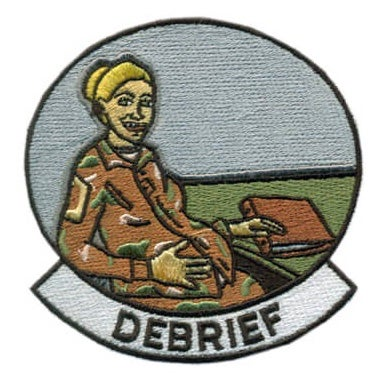 Image of Debrief Patch