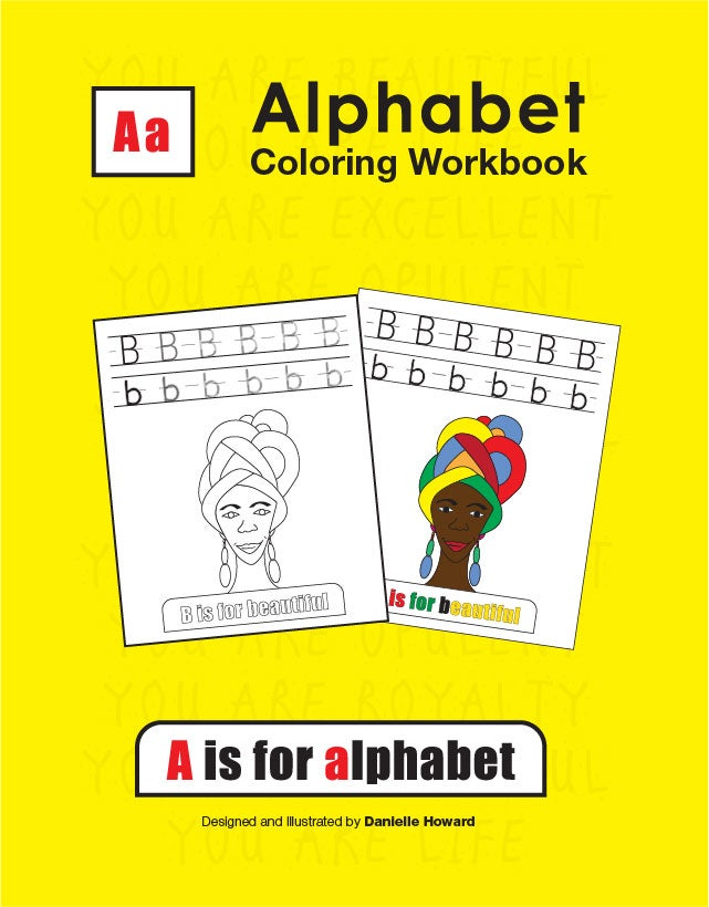 Image of Alphabet Coloring Workbook