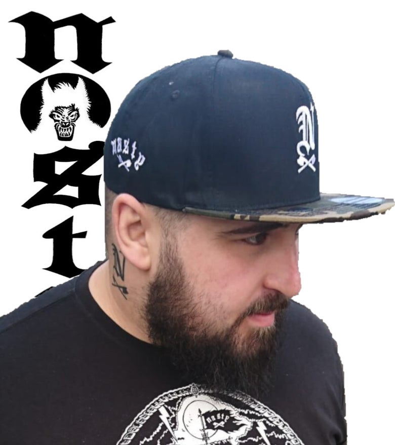 Image of Nasty Snarling SnapBack