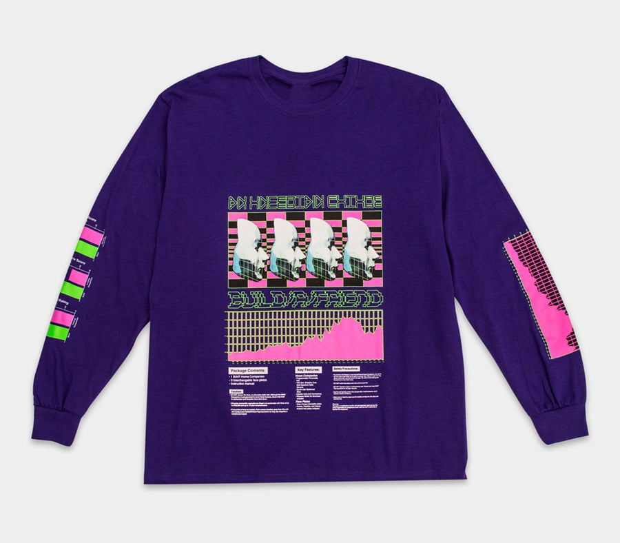 Image of An Uncertain Future L/S Tee Purple
