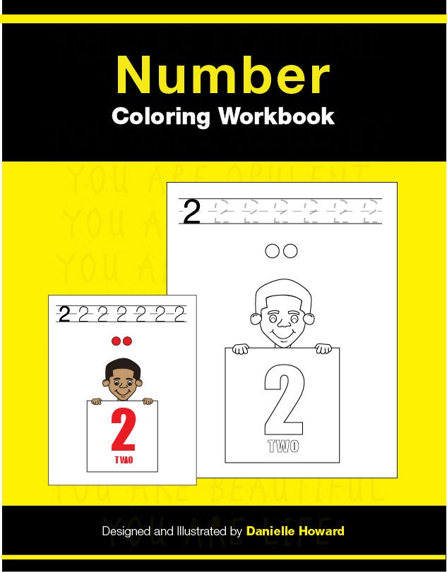 Image of Number Coloring Workbook