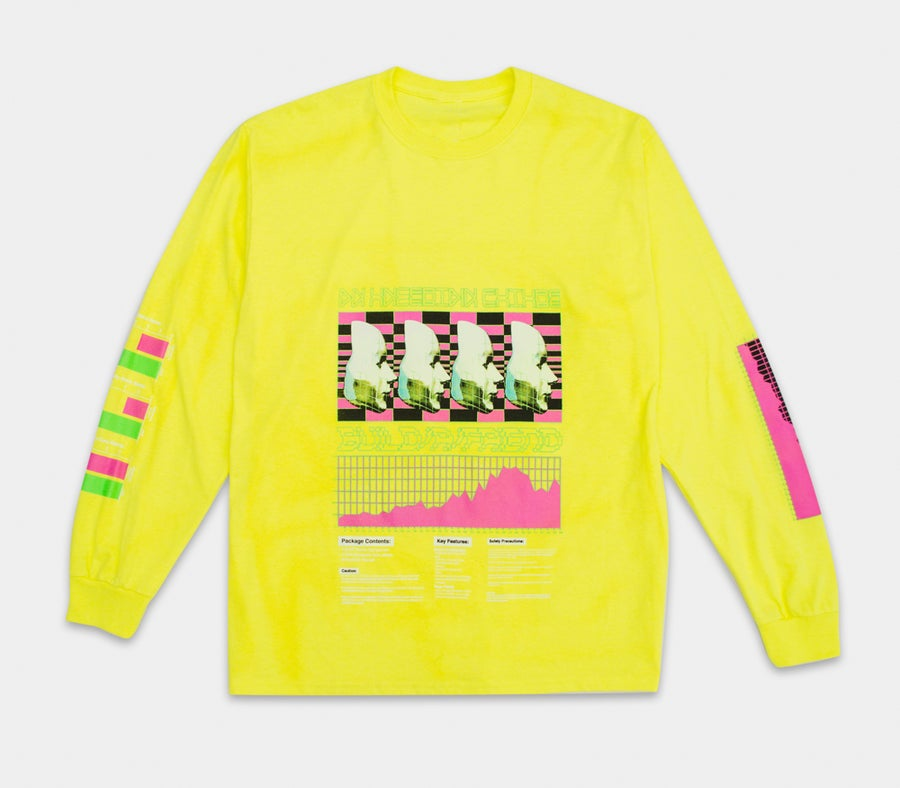 Image of An Uncertain Future L/S Frozen Yellow