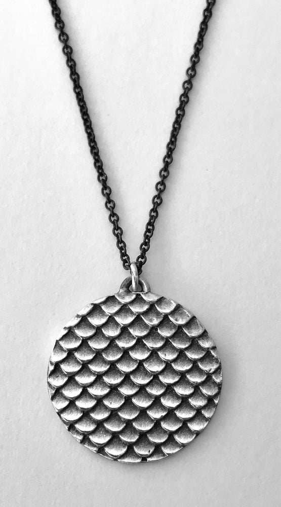 Image of Dragon Skin Circle Pendant