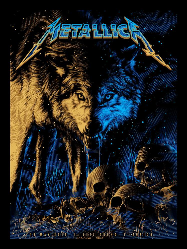 Image of Metallica Gold Foil AP