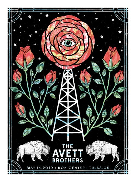 Image of The Avett Brothers Tulsa 5.14.2019