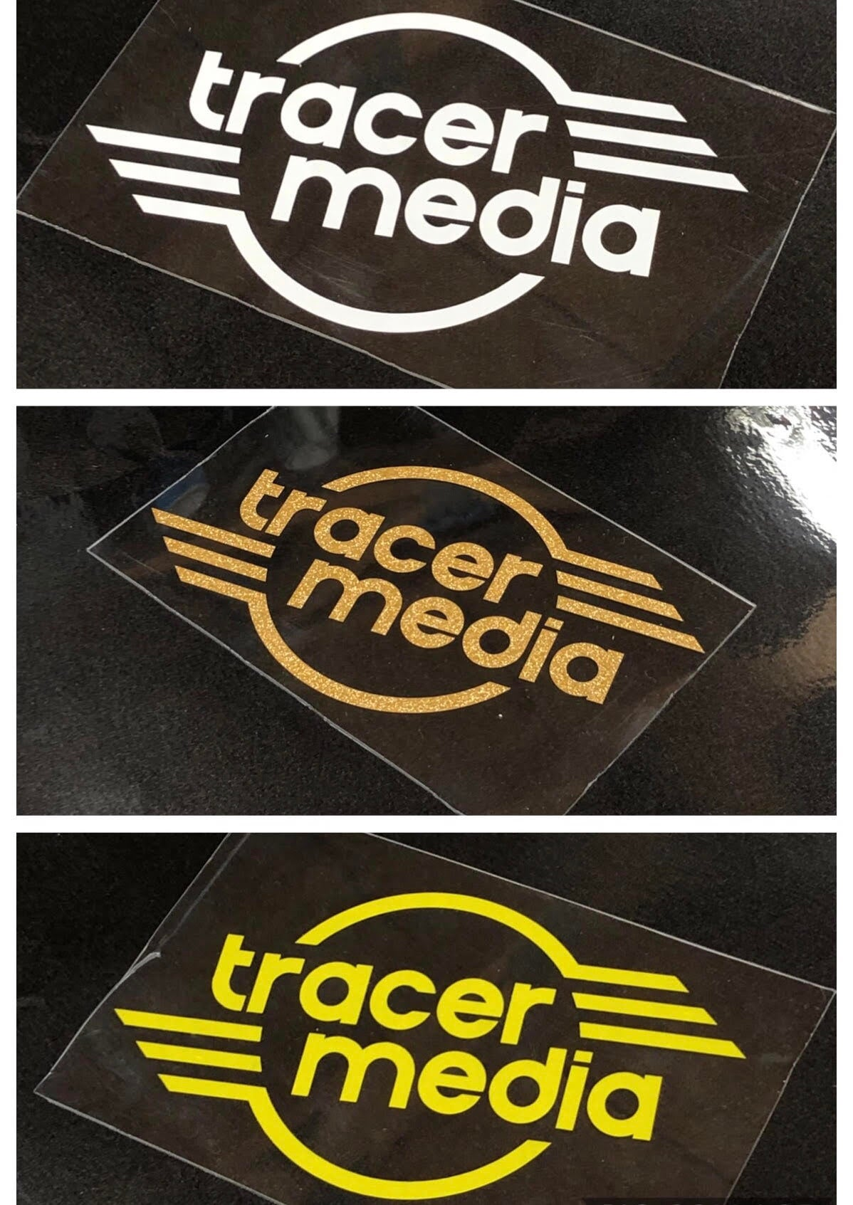 Image of Tracer Media Single Color Decal