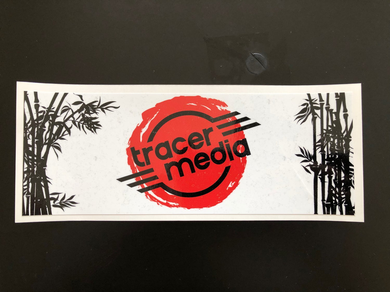 Image of Tracer Media Box Sticker