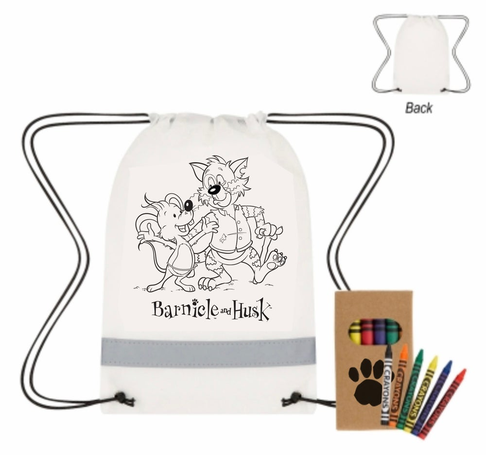 Image of BH Backpack Coloring Set