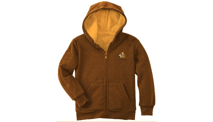 Image of Brown Hoodie Sweatshirt