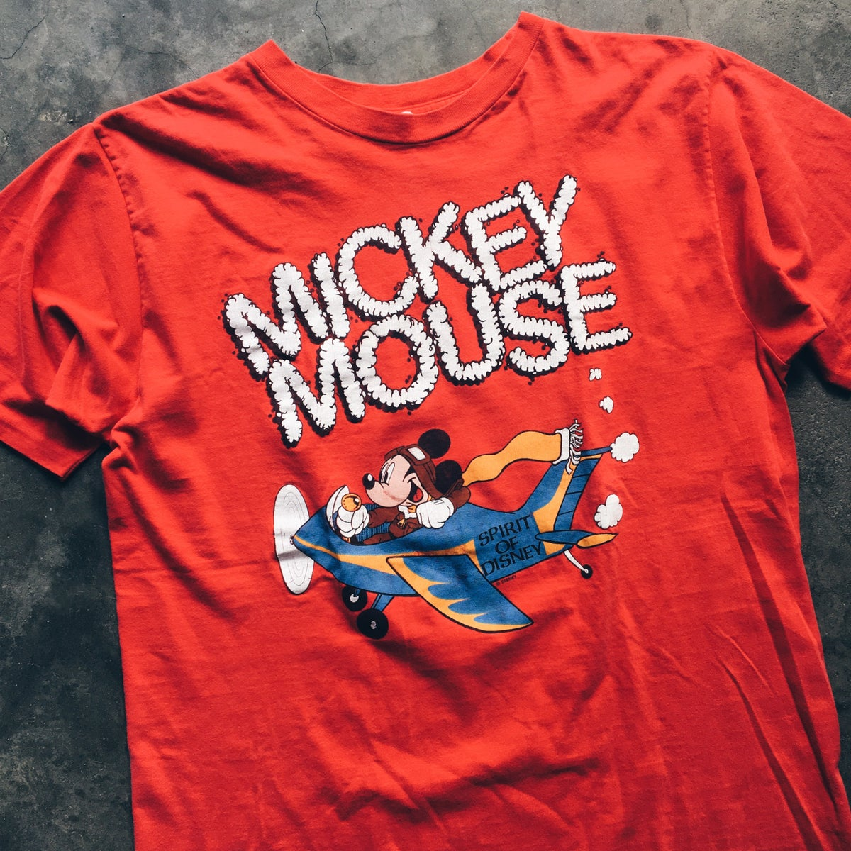 Image of Original Late 80's Disney Mickey Mouse Tee.