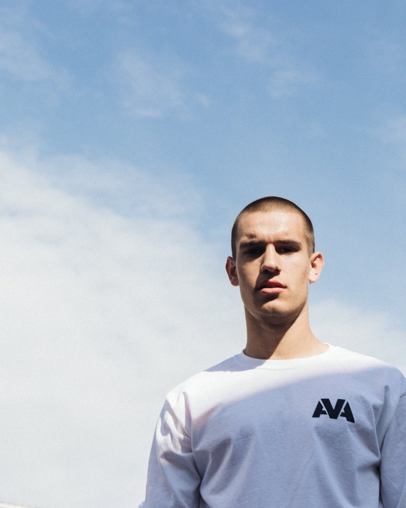 Image of AVA Classic Long Sleeve Tee - White