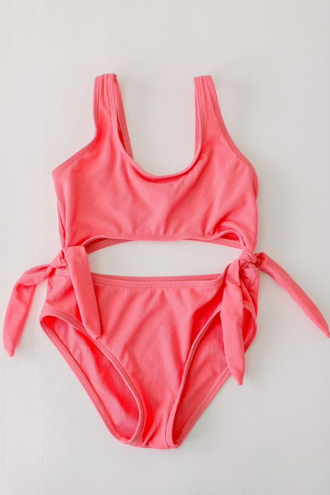 Image of The Summerland Swimsuit - Coral