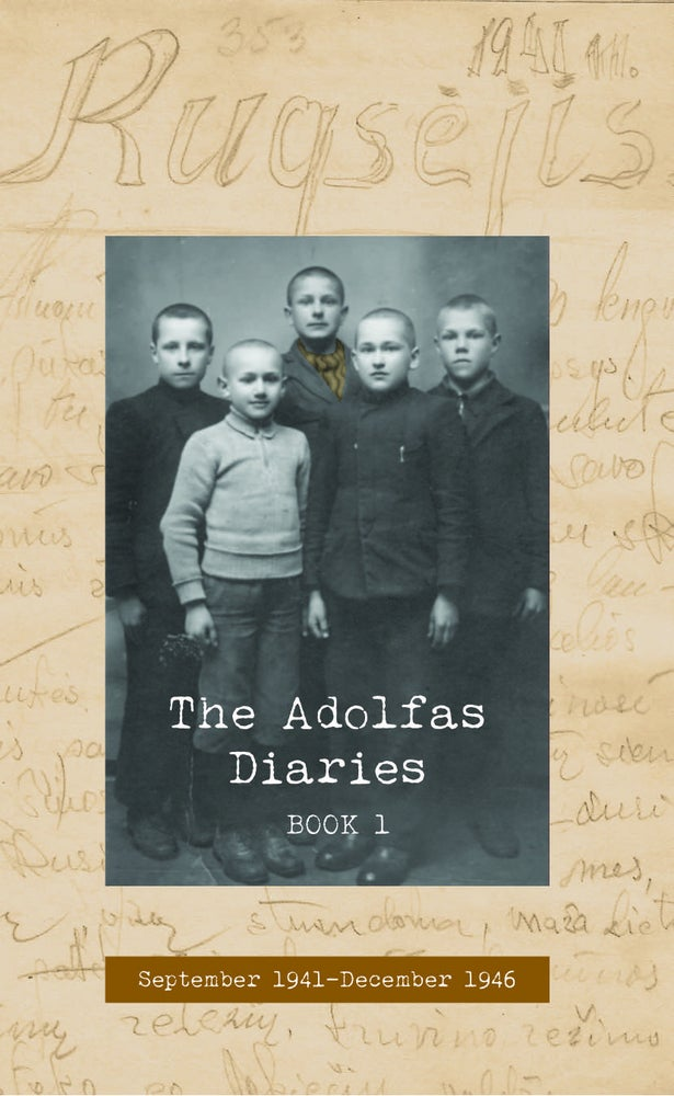 Image of The Adolfas Diaries: Book 1, by Adolfas Mekas