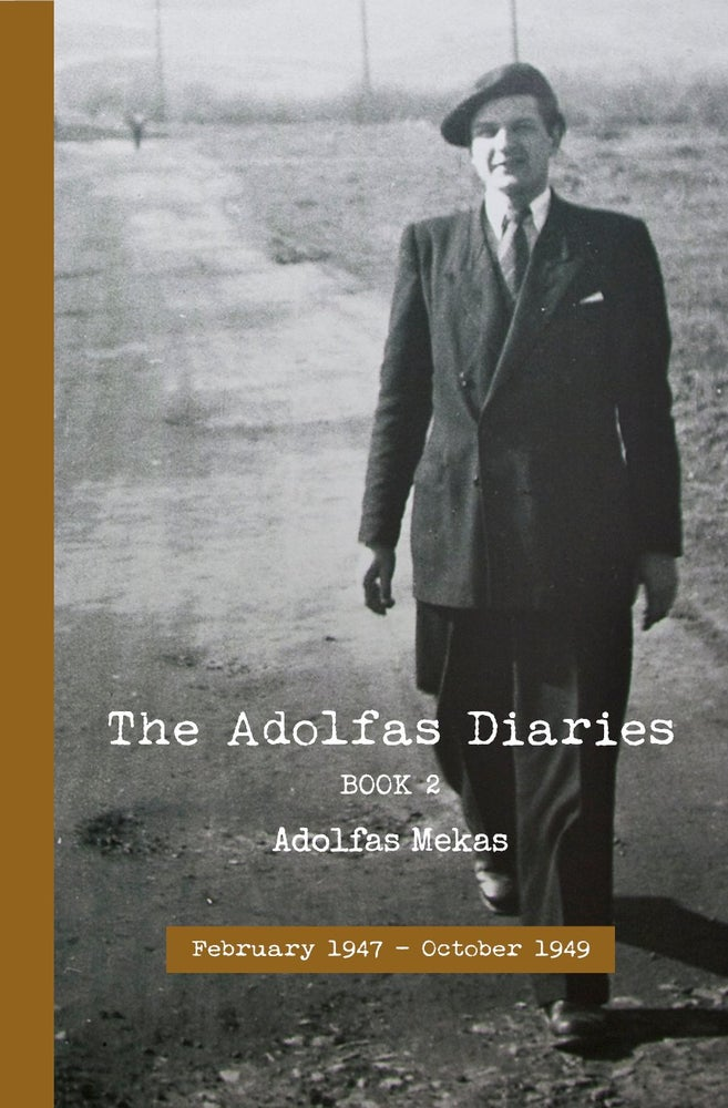 Image of The Adolfas Diaries: Book 2, by Adolfas Mekas