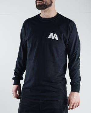 Image of AVA Classic Long Sleeve Tee - Black