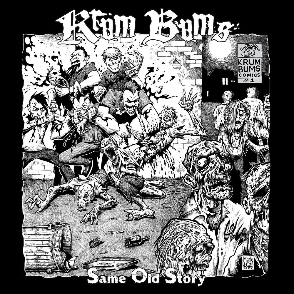 "Image of KRUM BUMS - ""Same Old Story"" 12"" EP"