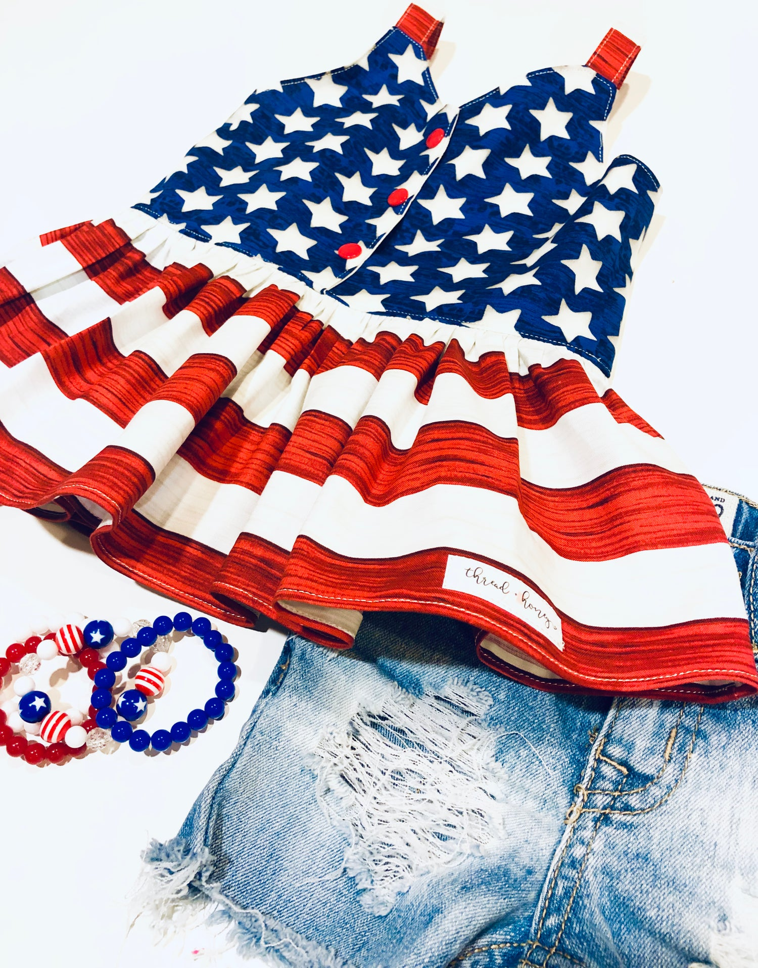 Image of Patriotic Stars and Stripes