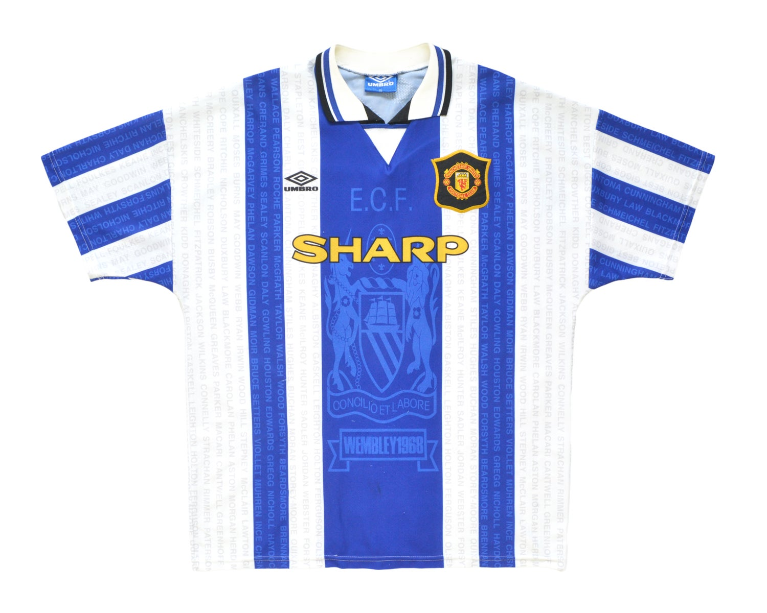 Image of 1994-96 Umbro Manchester United Third Shirt XL