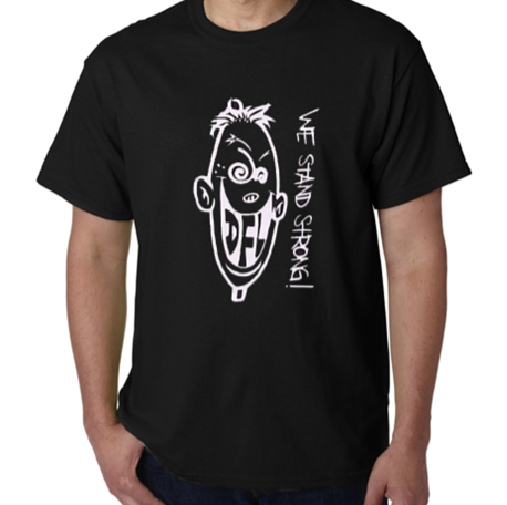 Image of WE STAND STRONG Knucklehead T-shirt (Blk)