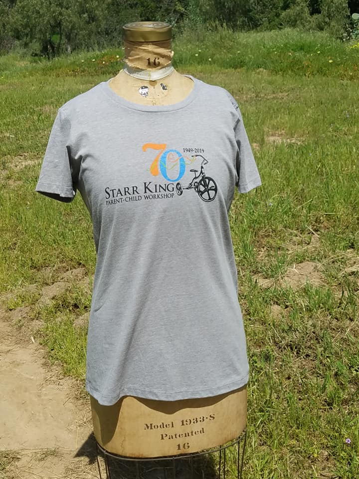 Image of Adult 70th tee shirt (female)
