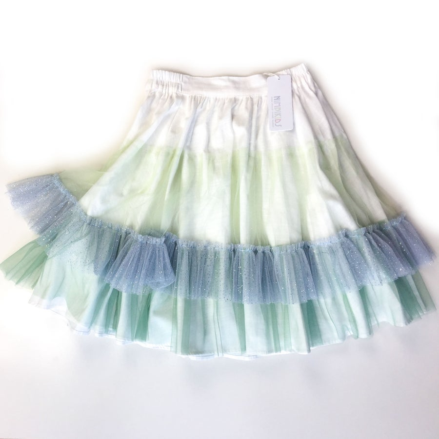 Image of Wonderland Tulle Skirt - Mint Macaroon