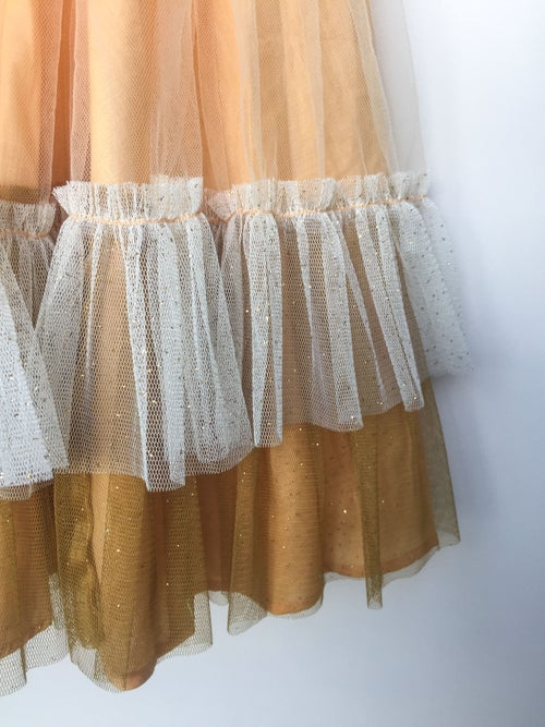Image of Wonderland Tulle Skirt - Peach Almond Tarte