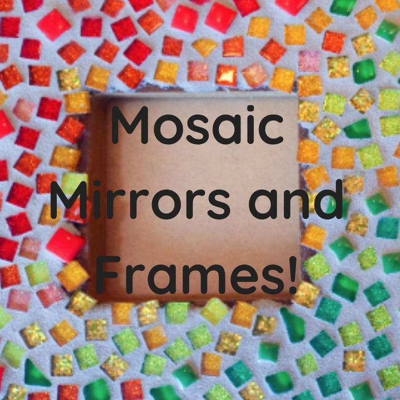Image of Mosaic Mirrors and Frames Multiple Dates