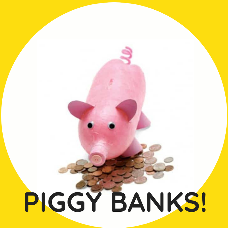 Image of PIGGY BANKS! Multiple Dates