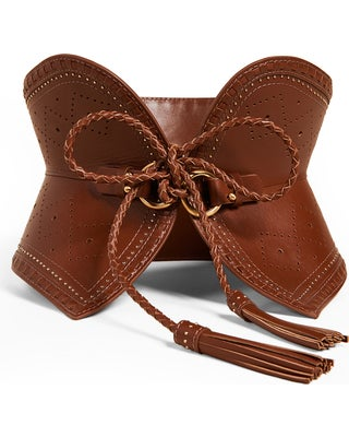 Image of ZIMMERMAN LEATHER BELT