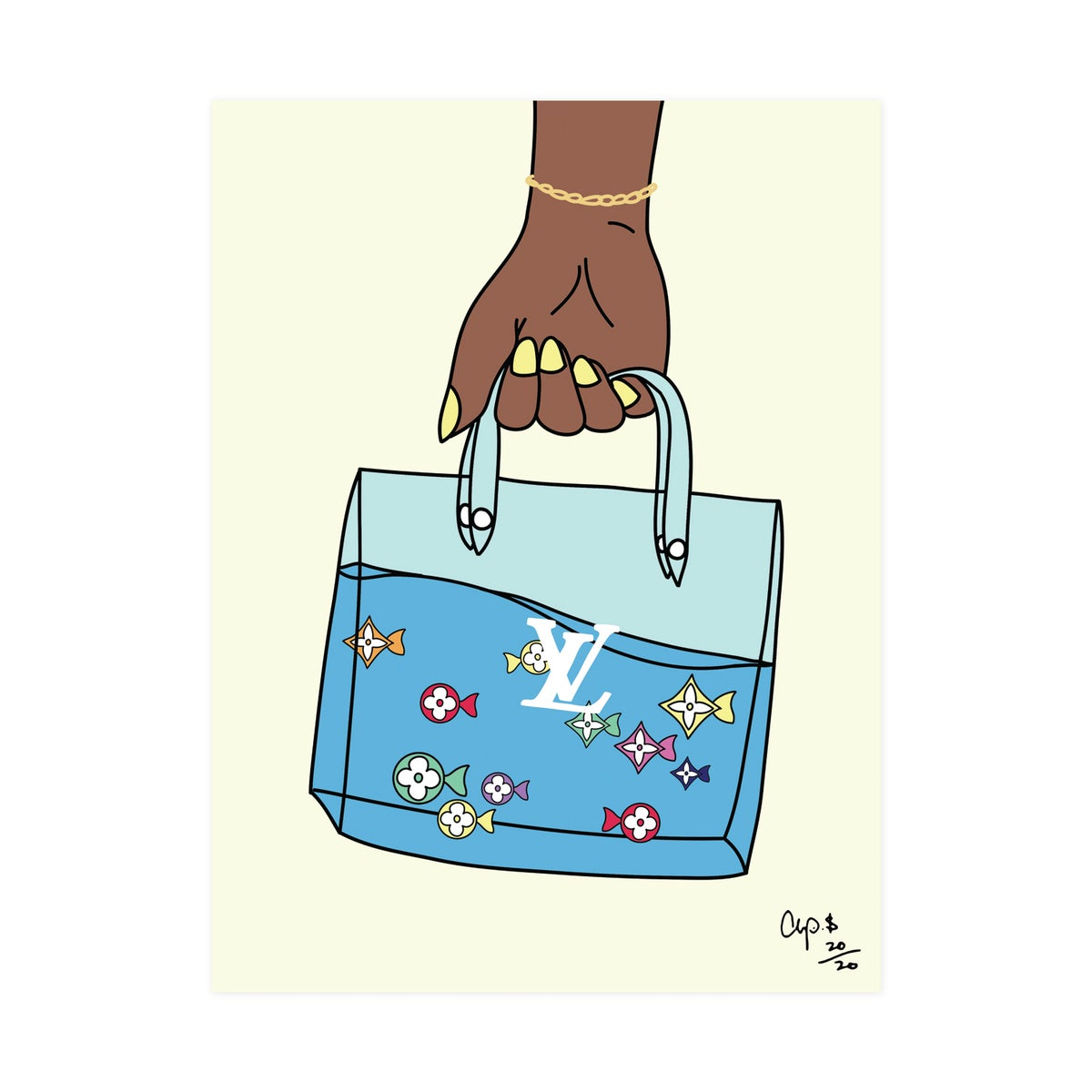 Image of LV Multi Color Fish