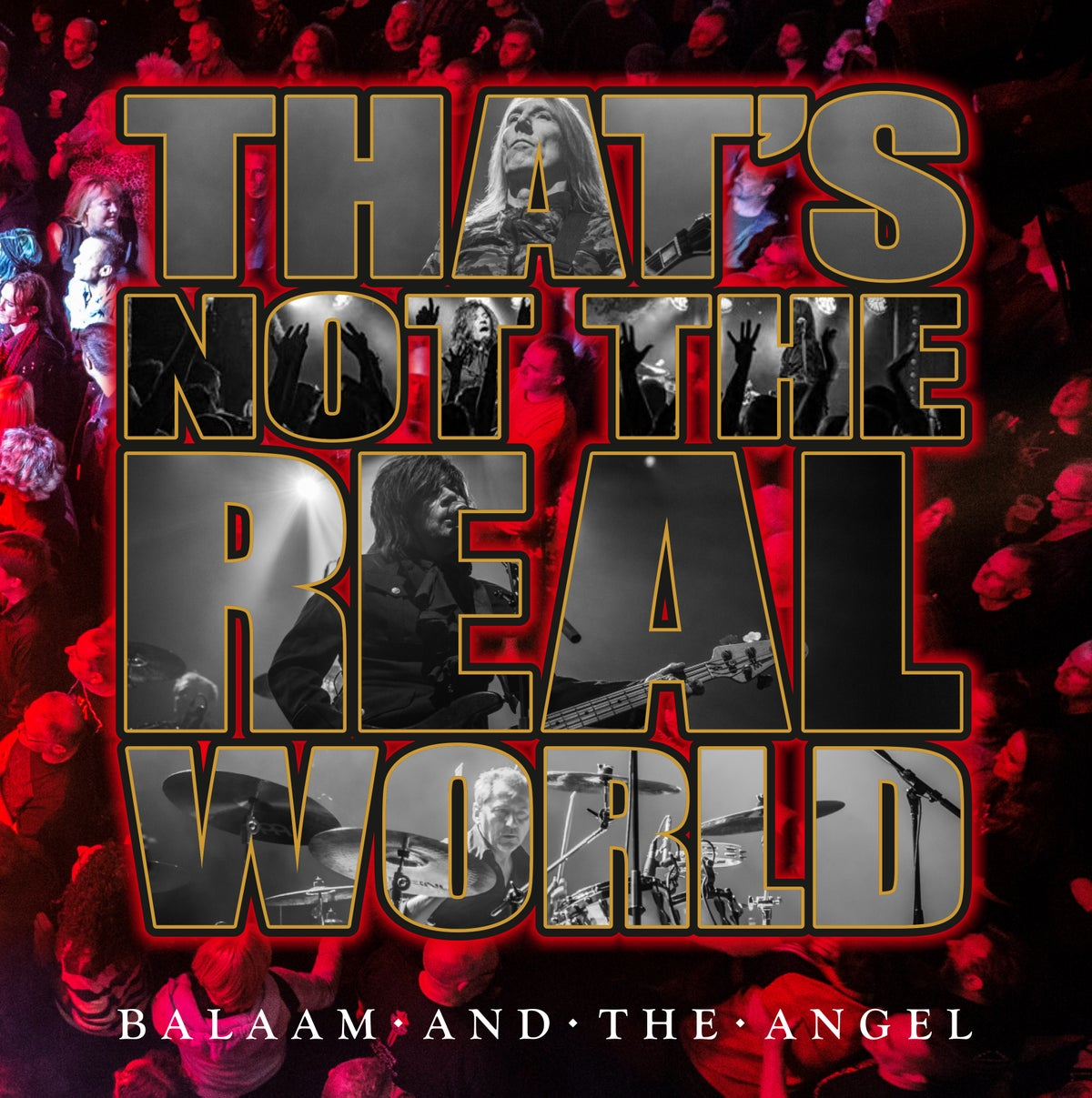 Image of That's Not The Real World Live - Signed CD + Signed hand written lyric sheet