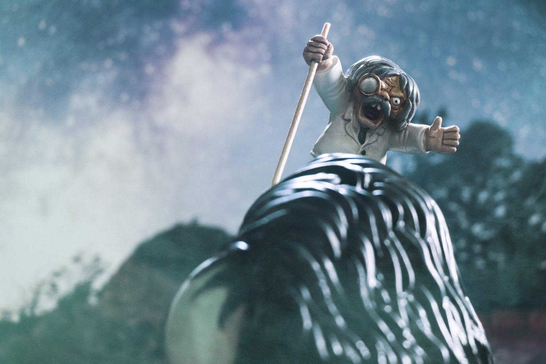 Image of THE LOVELY MONSTER'S 'PROF FRANKENSTEIN' MINI FIGURE