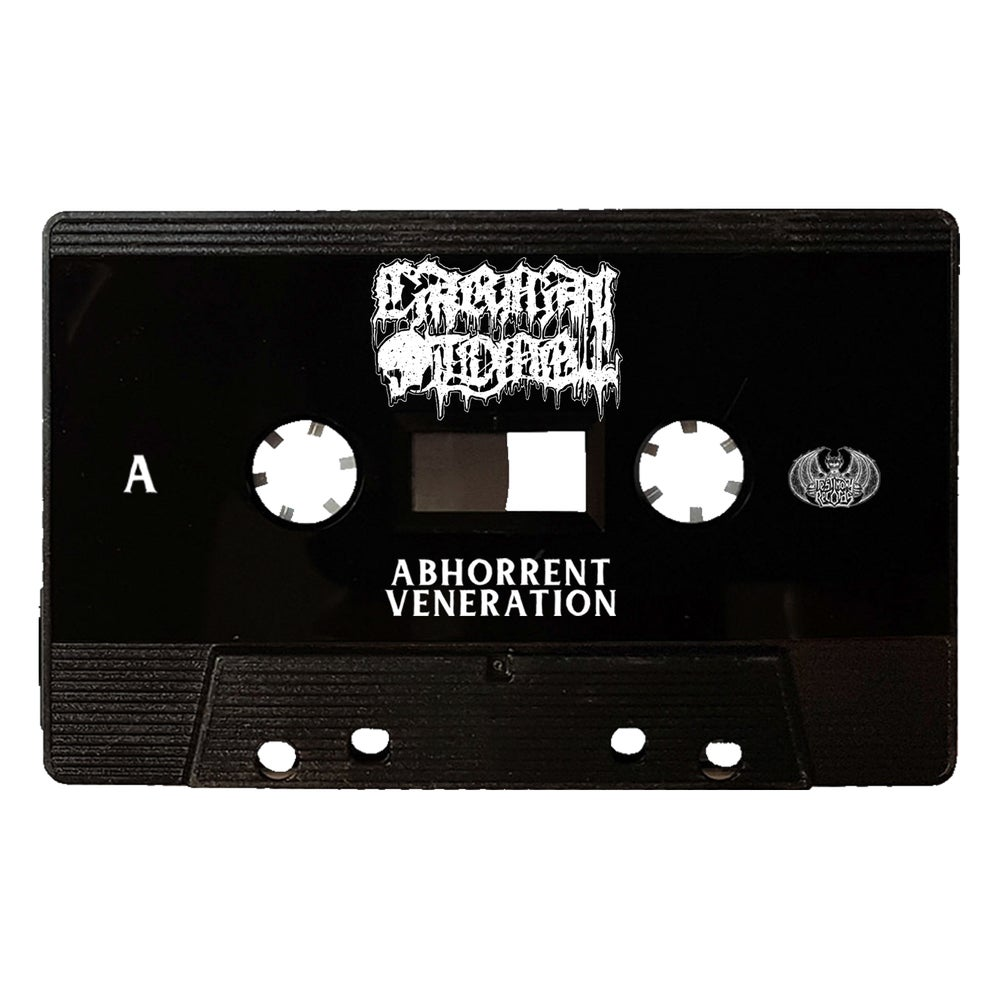 Image of Carnal Tomb • Abhorrent Veneration (Tape / Luminious Green, Blue, Black)