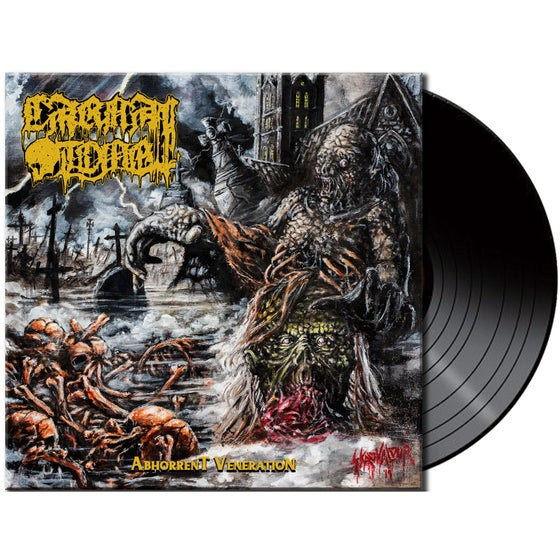 Image of Carnal Tomb • Abhorrent Veneration (Black Vinyl)